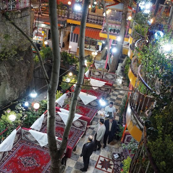 darband in teheran foto's
