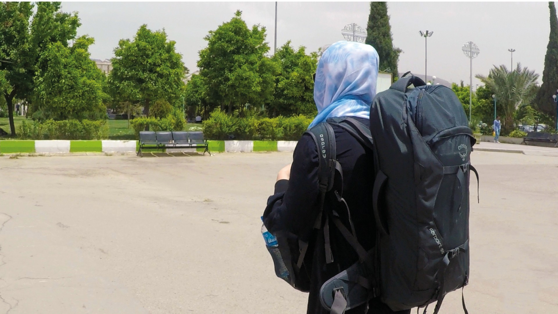 backpacken in iran solo
