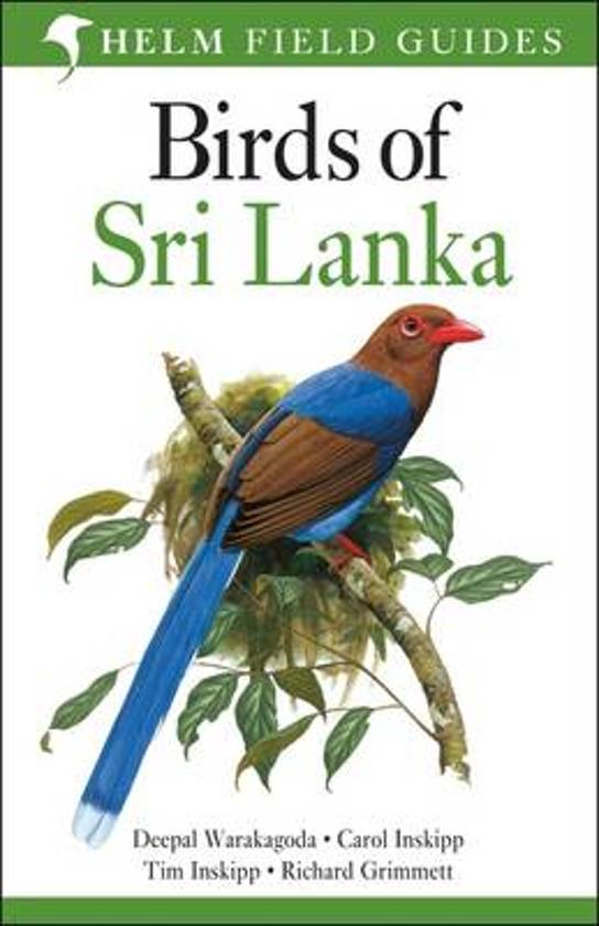 Natuurgids: Birds of Sri Lanka cover