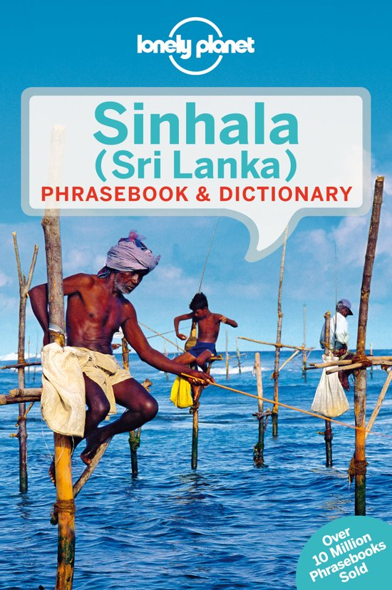 Taalgids: Lonely Planet Sinhala (Sri Lanka) Phrasebook & Dictionary cover